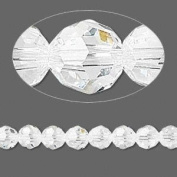 . Crystal 5000 6mm Clear Faceted Round Beads - 12 Pack