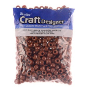 Pony Beads, Tiger Eye, 480pc Pkg