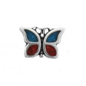 Butterfly with Inlay Charm