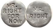 Santa Barbara Design Studio Pewter Flip Coin Charm by Artist Tamara Hensick
