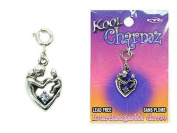 Koolcharmz Mother and Child Blue Stone Dangling Charm