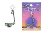 Koolcharmz Hockey Stick and Puck Dangling Charm