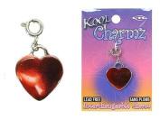 Koolcharmz Red Heart Dangling Charm
