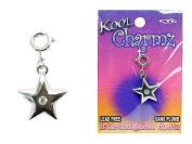 Koolcharmz Star w/ Crystal Centre Dangling Charm