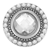 Ginger Snaps HEIRLOOM - CRYSTAL SN05-65 Interchangeable Jewellery Snap Accessory