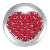 Ginger Snaps BURNING LOVE SN01-04 Interchangeable Jewellery Snap Accessory