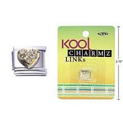 Kool Charmz Links Heart