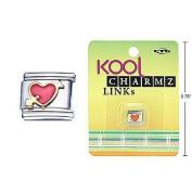 Kool Charmz Links Heart/Arrow