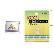 "Kool Charmz Links Letter ""A"""