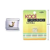 "Kool Charmz Links Letter ""J"""