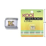 "Kool Charmz Links Letter ""K"""