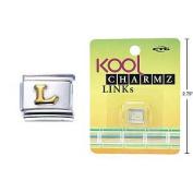 """Kool Charmz Links Letter """"L"""""""