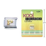 """Kool Charmz Links Letter """"P"""""""