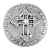 Ginger Snaps CHAPEL CROSS SN03-02 Interchangeable Jewellery Snap Accessory