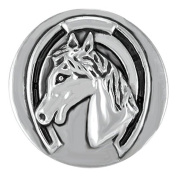 Ginger Snaps DERBY HORSE SN20-36 Interchangeable Jewellery Snap Accessory