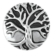 Ginger Snaps TREE SN06-62 Interchangeable Jewellery Snap Accessory