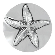 Ginger Snaps STARFISH SNAP SN21-06 Interchangeable Jewellery Snap Accessory