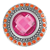 Ginger Snaps HEIRLOOM - PINK SN05-67 Interchangeable Jewellery Snap Accessory