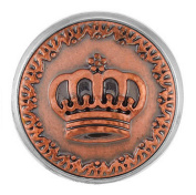 Ginger Snaps COPPER QUEEN SN04-11 Interchangeable Jewellery Snap Accessory