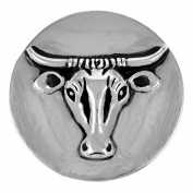 Ginger Snaps RAGING BULL SN20-38 Interchangeable Jewellery Snap Accessory