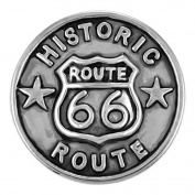 Ginger Snaps ROUTE 66 SN06-71 Interchangeable Jewellery Snap Accessory