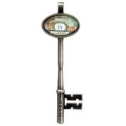 Santa Barbara Design Studio Key-Shaped Jewellery Charm by Artist Sally Jean