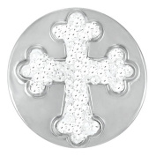 Ginger Snaps CROSS SUGAR SNAP SN32-30 Interchangeable Jewellery Snap Accessory