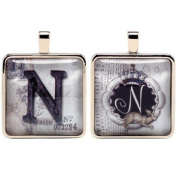 Santa Barbara Design Studio Alphabet Letter Jewellery Charm by Artist Sally Jean