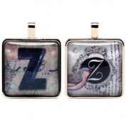 Santa Barbara Design Studio Alphabet Letter Jewellery Charm by Artist Sally Jean