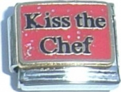 Kiss The Chef Italian Charm Bracelet Jewellery Link