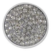 Ginger Snaps BLACK DIAMOND SUGAR SNAP SN32-02 Interchangeable Jewellery Snap Accessory