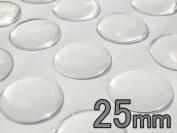100 Pcs. 25mm Circle Epoxy Stickers