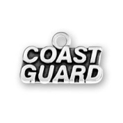 Coast Guard Sterling Silver Charm