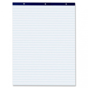 Pacon White 2.5cm Ruled Easel Pad, 70cm X 90cm , White, 50 Sheets