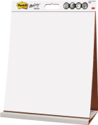 Post-it Tabletop Easel Pad, 50cm x 60cm , White, 20-Sheets/Pad