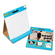 Pacon TEP1615 GoWrite! Dry Erase Table Top Easel Pad, 16 x 15, 4 10-Sheet Pads/Carton