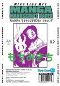 Manga Manuscript Paper (21cm X 30cm ) Blank #80 Beginner