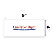 3 Mil Stack Pack Laminating Pouches 10cm x 23cm