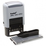 Trodat 5916 - Self-Inking Do It Yourself Message Dater, 3/4 x 1 7/8-USS5916