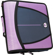Case-it Large Capacity 7.6cm Zipper Binder, Lavender, D-146-LAV