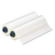 Laminator Roll Film, Gloss, 12 quot;x300 #39;, 1.7 mil, 2/BX, Clear