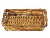 Rectangular Willow Tray - Open Weave 5-8 items