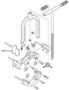 Reed Manufacturing H4L 4406-4 Latch Machined