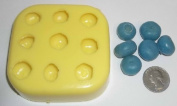 Blueberries Candle & Soap Mould - 9 cavities
