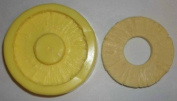 Pineapple Ring Candle & Soap Mould- 1 Cavity Mould
