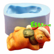 Silicone Candle Mould DIY 3D Bear Mould S0751