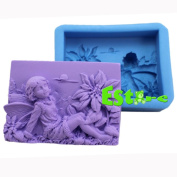 Silicone Candle Mould DIY 3D Angel Mould S0556