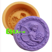 Silicone Candle Mould DIY 3D Angel Mould S0558