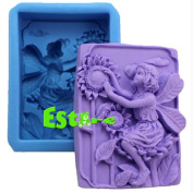 Silicone Candle Mould DIY 3D Angel Mould S0564