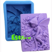 Silicone Candle Mould DIY 3D Angel Mould S0565